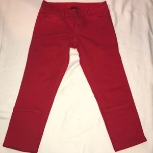 American Eagle stretch red jeans